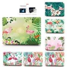 Nova cor impresso caso portátil para macbook air pro retina 11 12 13 15 16 polegada caso para macbook
