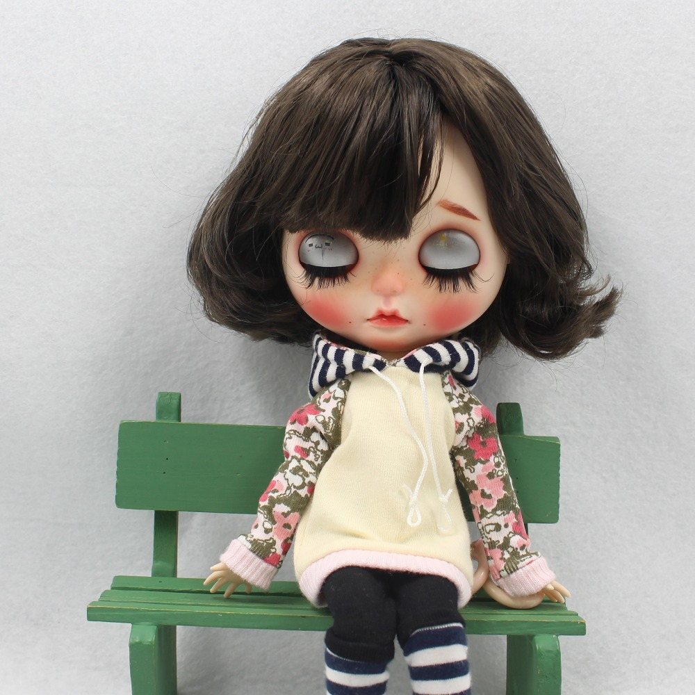 Neo Blythe Doll Hoodie & Pant With Shoes 2