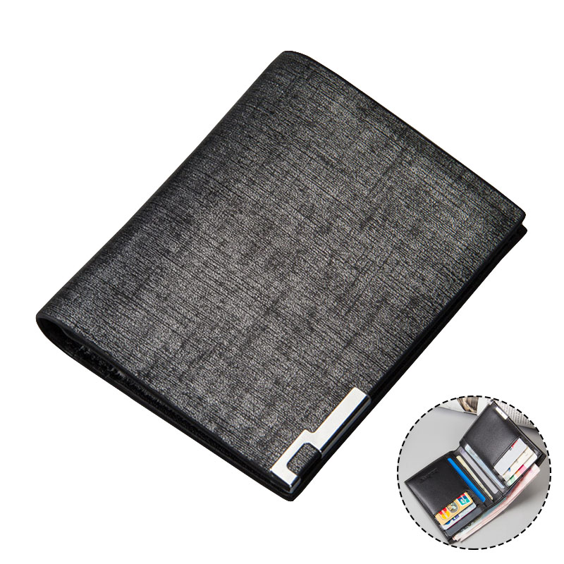 New Men Wallets Small Money Purses New Design Short Dollar Price Card Holder Top Men Thin Wallet Microfiber Leather Male Wallet 2018 new men wallets leather small money purses brand wallets dollar price high quality male thin wallet credit card holder bag