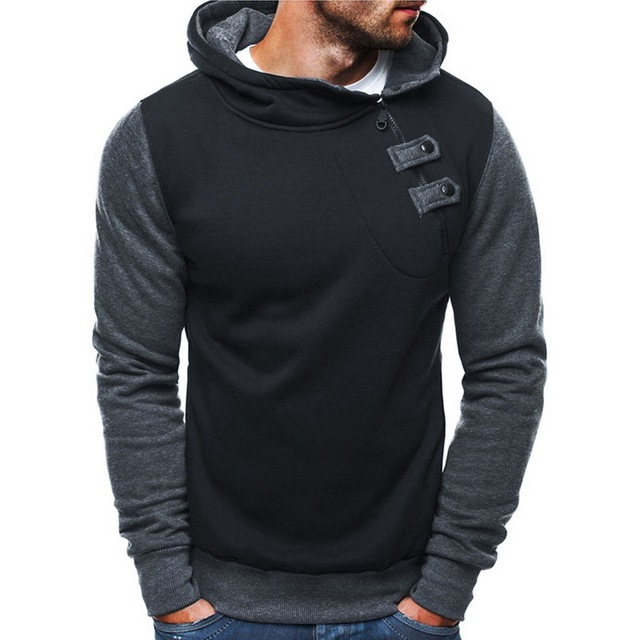 SHUJIN 2020 Side Zipper Hoodie Stylish Hoodies Unisex color: color 1|color 2