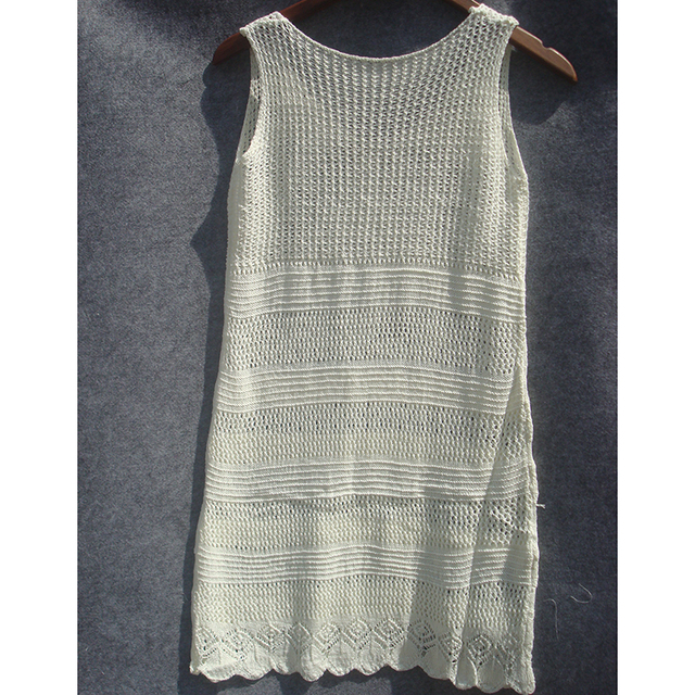 New Crochet Knitted Dress or Beach Cover Up