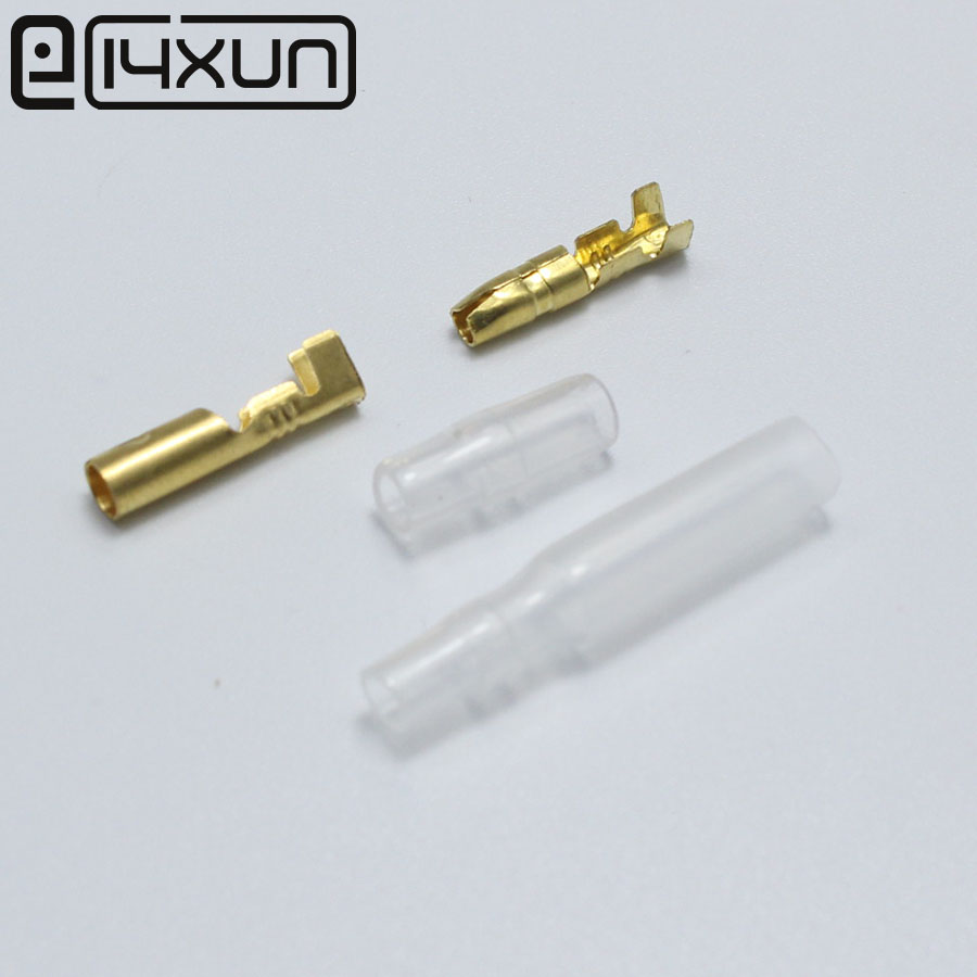 100sets=400pcs 3.5mm Bullet Terminal Car Electrical Wire Connector Diameter 3.5mm Pin Set Free Shipping Products Are Sold Without Limitations Home Improvement
