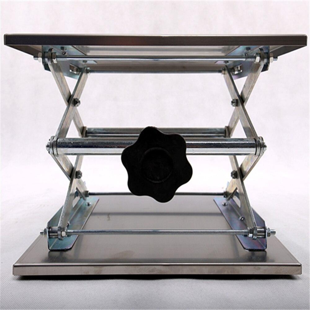 15X15X25 CM Paslanmaz çelik lab jack, laboratuvar jack, lab destek, laboratuar aleti