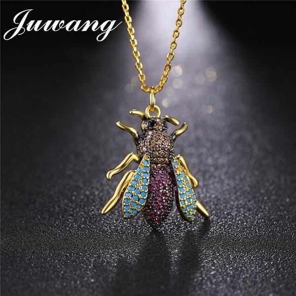 JUWANG Yellow Crystal Bee...