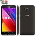 Original asus zenfone max zc550kl 2g ram 32g rom 5000 mah da bateria Telefone móvel 5.5 ''HD 64Bit MSM8916 Quad Core 4G LTE Snapdragon