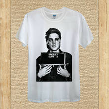 Elvis Presley T-shirt design Rock and Roll the King history unisex women fitted(China)