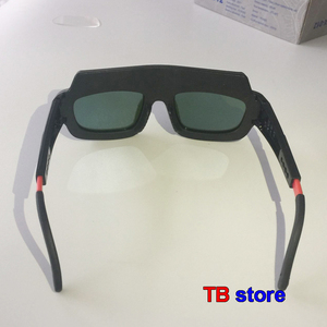 Image 4 - TX 012 Solar energy Automatic dimming Welding glasses Double layer rapidly Lightening goggles welding gas cutting Safety goggles