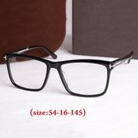 Vazrobe Acetate Glasses Women Man famous brand black tortoise Eyeglasses Frames Clear 0 degree women's diopter myopia eyewear