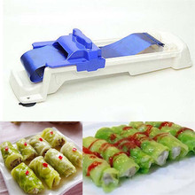 New Quick Sushi Making Tools Vegetable Meat Rolling Tool Magic Roller Stuffed Garpe Cabbage Leave Grape Leaf Machine 2019