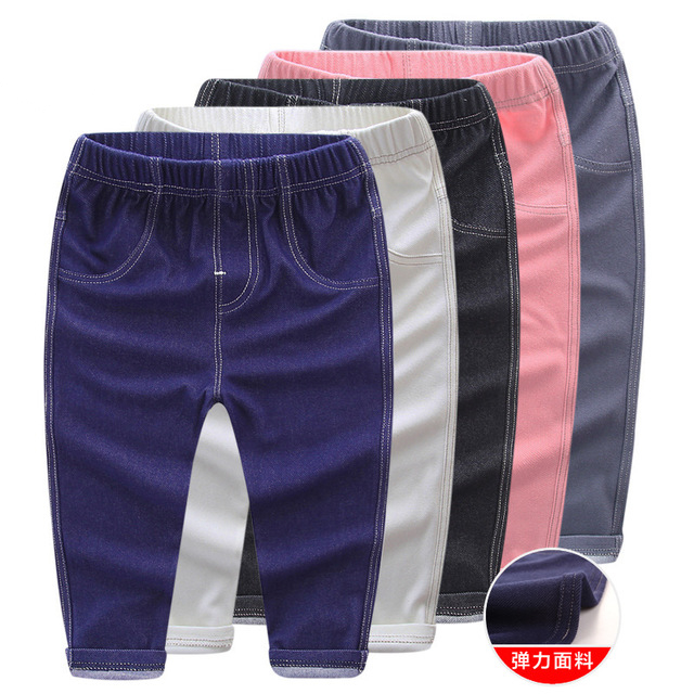 Girls Jeans Leggings Pants Toddler Baby Boys Kids Children New for 1-5Y