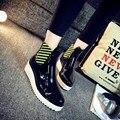 Женщин Без Скольжения Клин Лодыжки Дождь Сапоги Короткие Botas Mujer Пешей Водонепроницаемый Дождь Обувь Для Леди Высота Увеличение