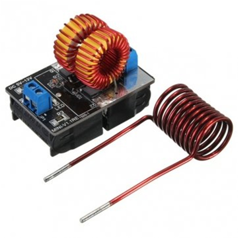 Hot Sale High Quality 5 v ~ 12 v ZVS induction heating power supply module + coil Wholesale price