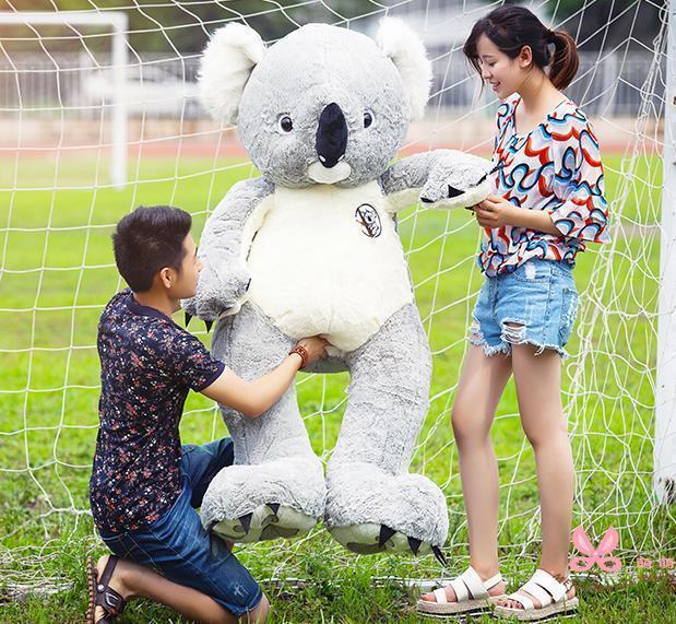 75cm Giant Australia Koala Cotton Plush Soft Toy Pillow Doll Stuffed Animal Gift