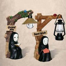 Японского аниме мультфильм Студии Ghibli kaonashi без Уход за кожей лица свет кукла Хаяо Миядзаки Унесенные призраками Смола фигурку Дети Игрушечные лошадки