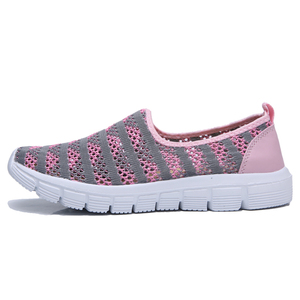 Image 3 - STQ 2020 여름 여성 신발 여성 통기성 메쉬 스 니 커 즈 신발 발레 플랫 숙 녀 슬리퍼로 퍼 신발 플러스 크기 E39