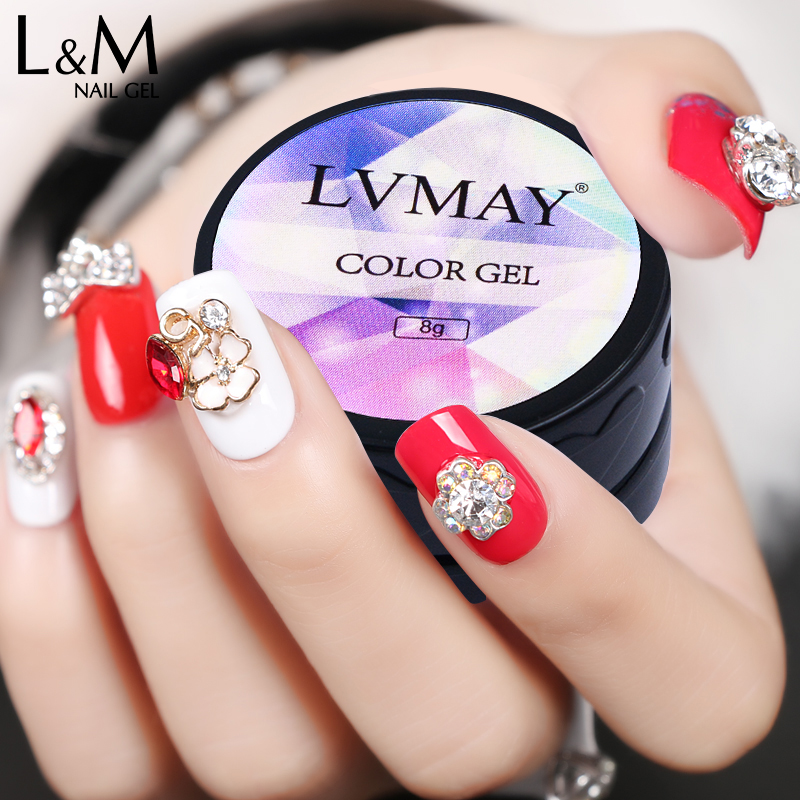 Lvmay κολλώδης κόλλα Gel Πολωνικά 6 - Τέχνη νυχιών - Φωτογραφία 3