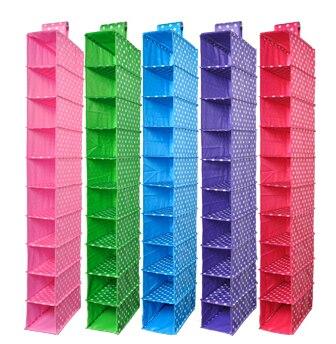 Organizatorji Vacuum Bag Box Pralna barva Organizator Zbirka viseči - Organizacija doma