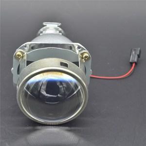 Full metal WST 2.5'' H1 HID Bixenon/Bifocal Headlight Projector Lens for H4 H7 Socket, Car Light Retrofit Parts
