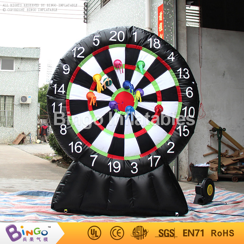 PVC Tarpaulin inflatable dart game for fun 2.2M high, inflatable dart board 7.2Ft. high BG-A0947 toy funny fishing game family child interactive fun desktop toy