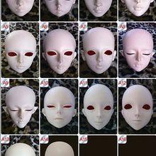 1/3 шкала BJD головка без макияжа BJD/Аксессуары для кукол SD только для практики макияжа. Не включенные глаза, ресницы и макияж 18D1160