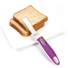 5-inch cake spatula /  butter knife / purple