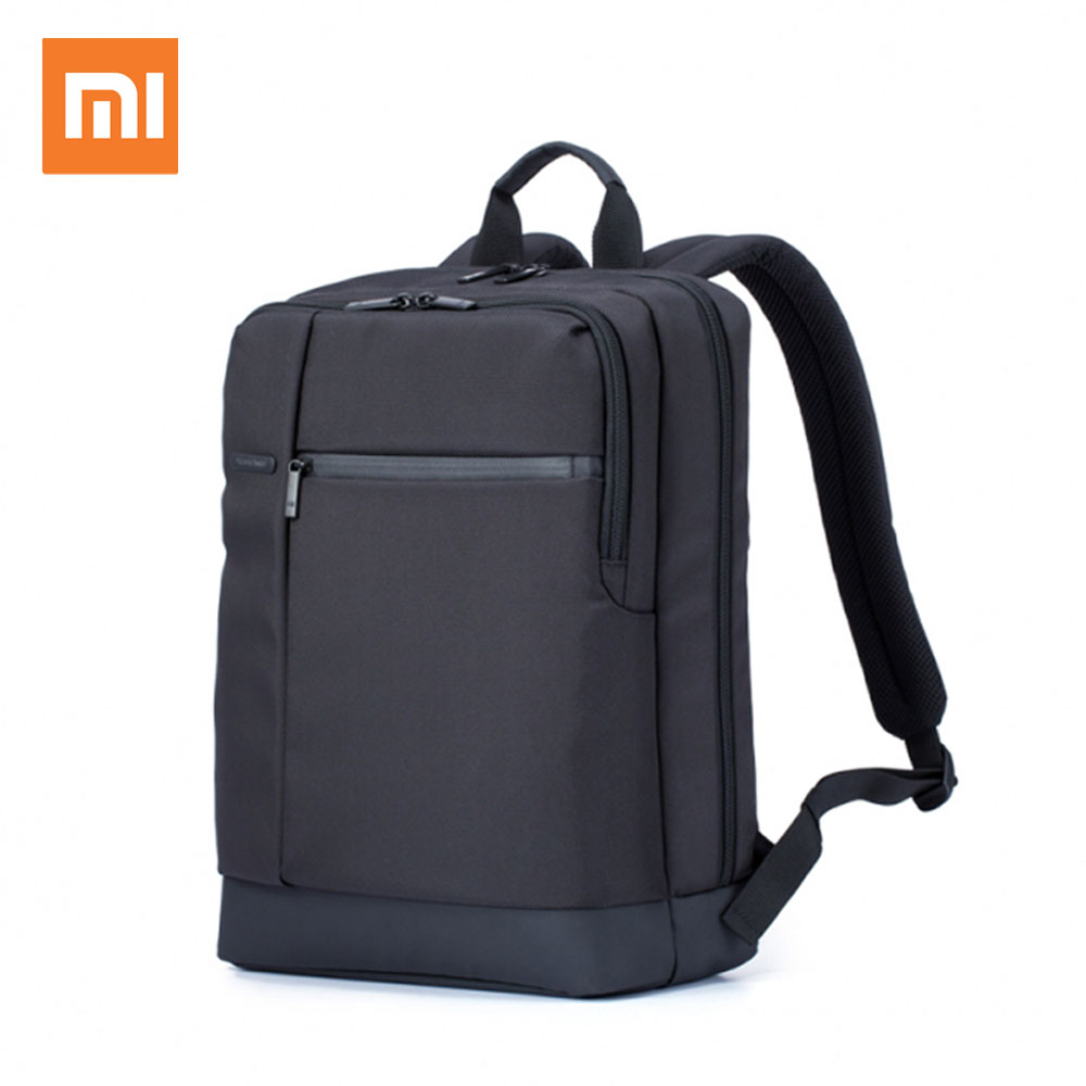 Authentic Xiaomi Mi Backpack Classic Business Backpacks 17L Capacity Students Laptop Bag Men Women Bags For 15-inch Laptop hot swisswin hot sale swiss 15 inch laptop bag case men women backpack wholesale price backpacks 2015 new brand cooler bag black