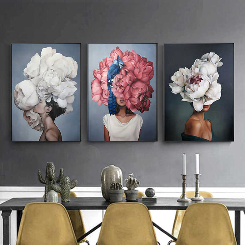 Printed Hot Sale 1PC Poster Painting Wall Art Canvas Wall Picture Creative High Quality Home Decoration No Frame For Living Room