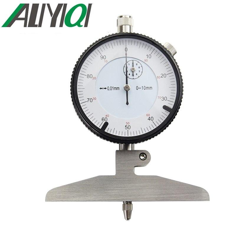0 100mm Dial depth gauge