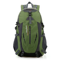 40L Waterproof Outdoor Backpack Nylon Sport Travel Hiking Backpack Camping Luggage cycling Backpack Bag