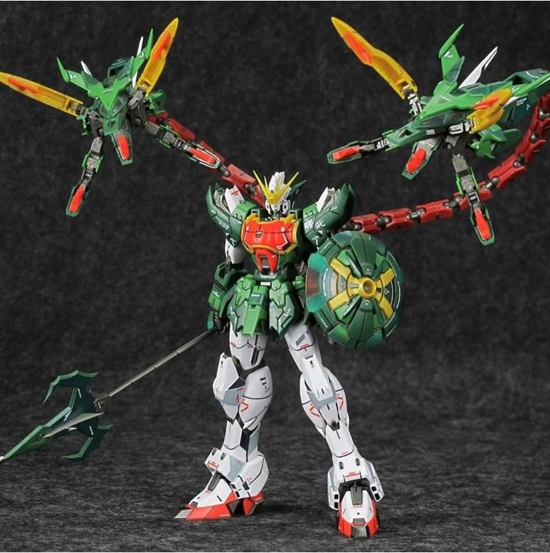 2019 Anime Endless Waltz Super Nova MG 1/100 Altron Gundam Nataku XXXG-01S2 Model Model Assemble Action Figure Robot Kids Toys