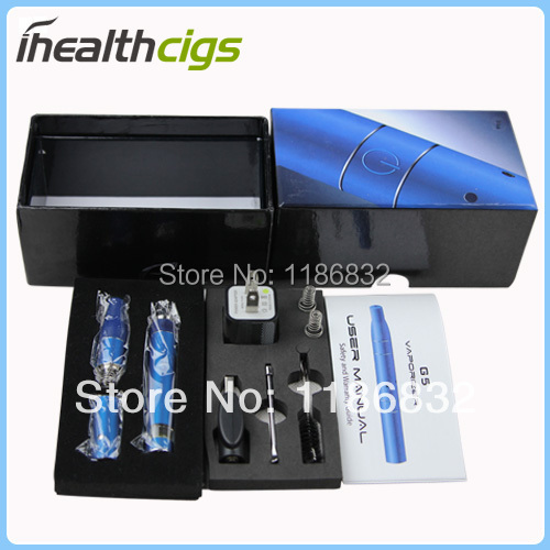 Dry Herb Vaporizer Ago G5 with pen dry herb vaporizers elctronic cigarette Ago Blue e cigs Free shipping ihealthcigs