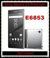 "Sony xperia z5 premium original gsm desbloqueado 4g lte android octa core ram 3 gb rom 32 gb e6853 5.5 ""IPS 23MP WIFI GPS"