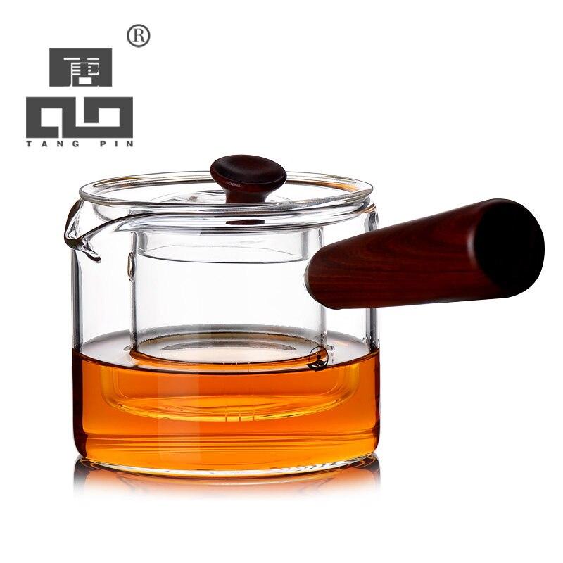 Tangpin посуда кофе и чайные сервизы термостойкие японский стеклянный чайник для пуэр