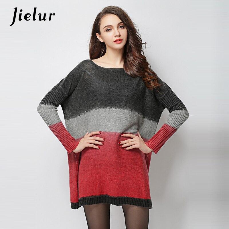 Свободно Нов 2019 Есен Дълъг Пуловер за - Дамски дрехи