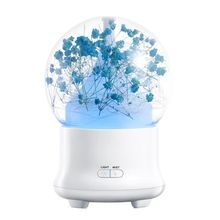 Immortalized Flower Humidifier Ultrasonic Aromatherapy Machine Household Equipment Essential Oil Air Freshener wi