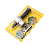 Professional 360 Degree Nibble Metal Cutting Tools Auto Car Repair Double Head Sheet Nibbler Hole Saw