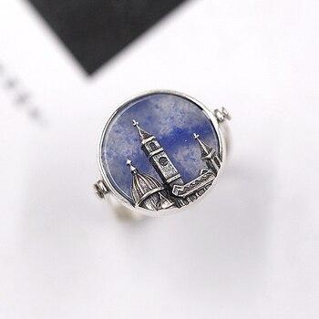 Handmade Jade Silver Ring5