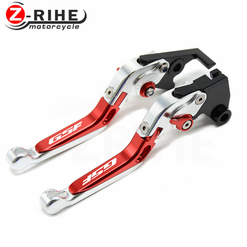 For Suzuki GSF650 BANDIT 07 GSF1250 BANDIT 2007 2015 CNC Motorcycle Telescopic folding Adjustable Brake Clutch Levers in Levers Ropes Cables from Automobiles Motorcycles
