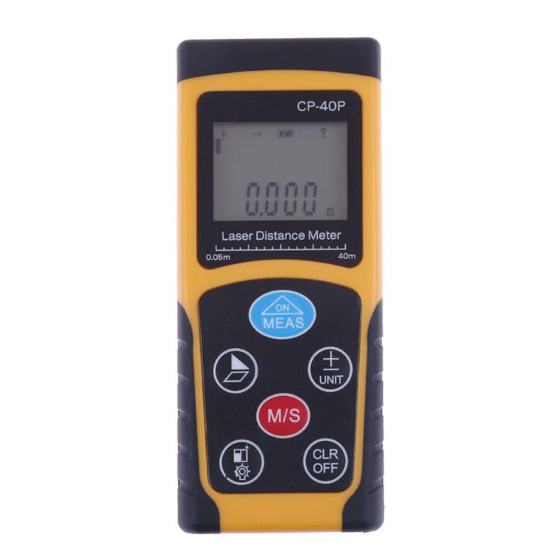 60m 100m Laser Distance Meter Laser Rangefinder Tape Range Finder trena ruler Diastimeter Measure Roulette outest 40m 60m 100m laser rangefinder digital laser distance meter laser roulette ruler trena tape measure range finder tools