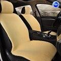 Plush car seat cover for Fiat Ottimo 500 Panda Punto EVO Linea Sedici Viaggio Bravo Freemont Coroma Scudo car accessories