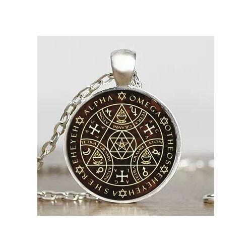 Schlüssel von Solomon Sigil Logo Steampunk hängender Weinlese - Modeschmuck - Foto 2