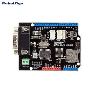 Image 3 - Щит CAN BUS. Совместим с Arduino. MCP2515 (CAN controller) и MCP2551 (CAN приемопередатчик), Подключение GPS. Устройство для чтения карт MicroSD.