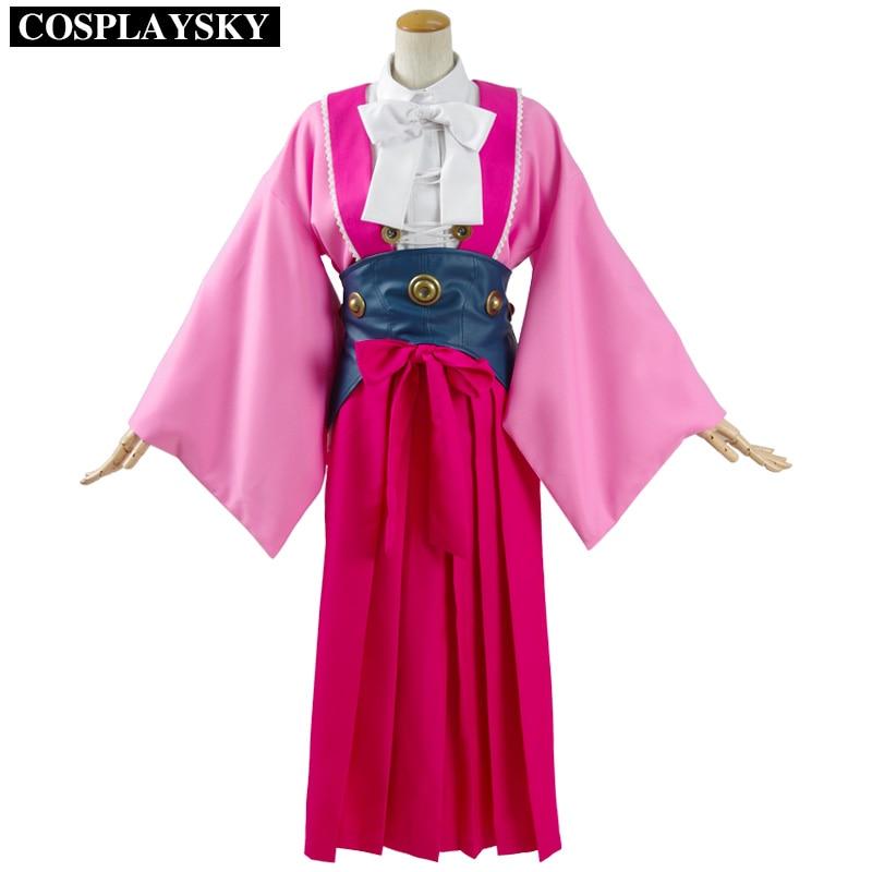 Kabaneri of the Iron Fortress Yomogawa Ayame Cosplay Costume Koutetsujou no Kabaneri Woman Dress For Christmas Holiday