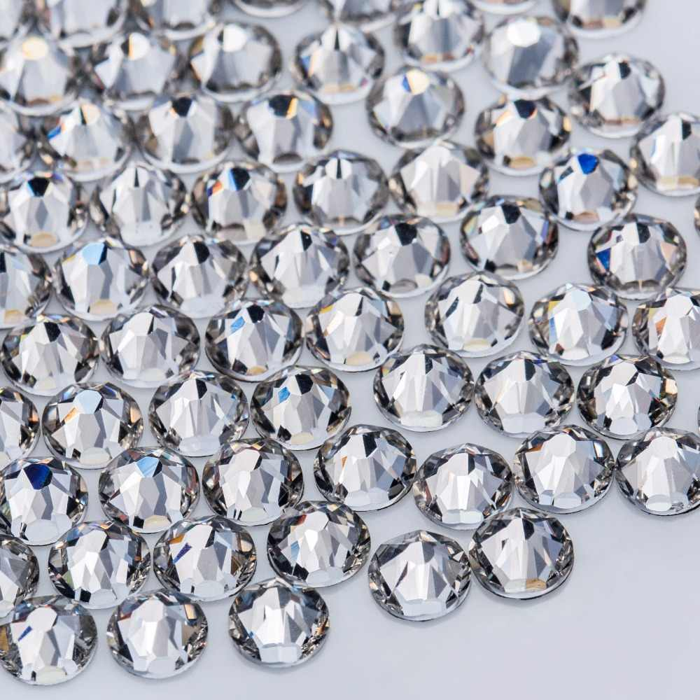 3c92b7d0a83266 Crystal Castle Rhinestones For Clothes 5A SS20 Clear Crystal Hotfix  Flatback Strass Hot Fix Nail Art