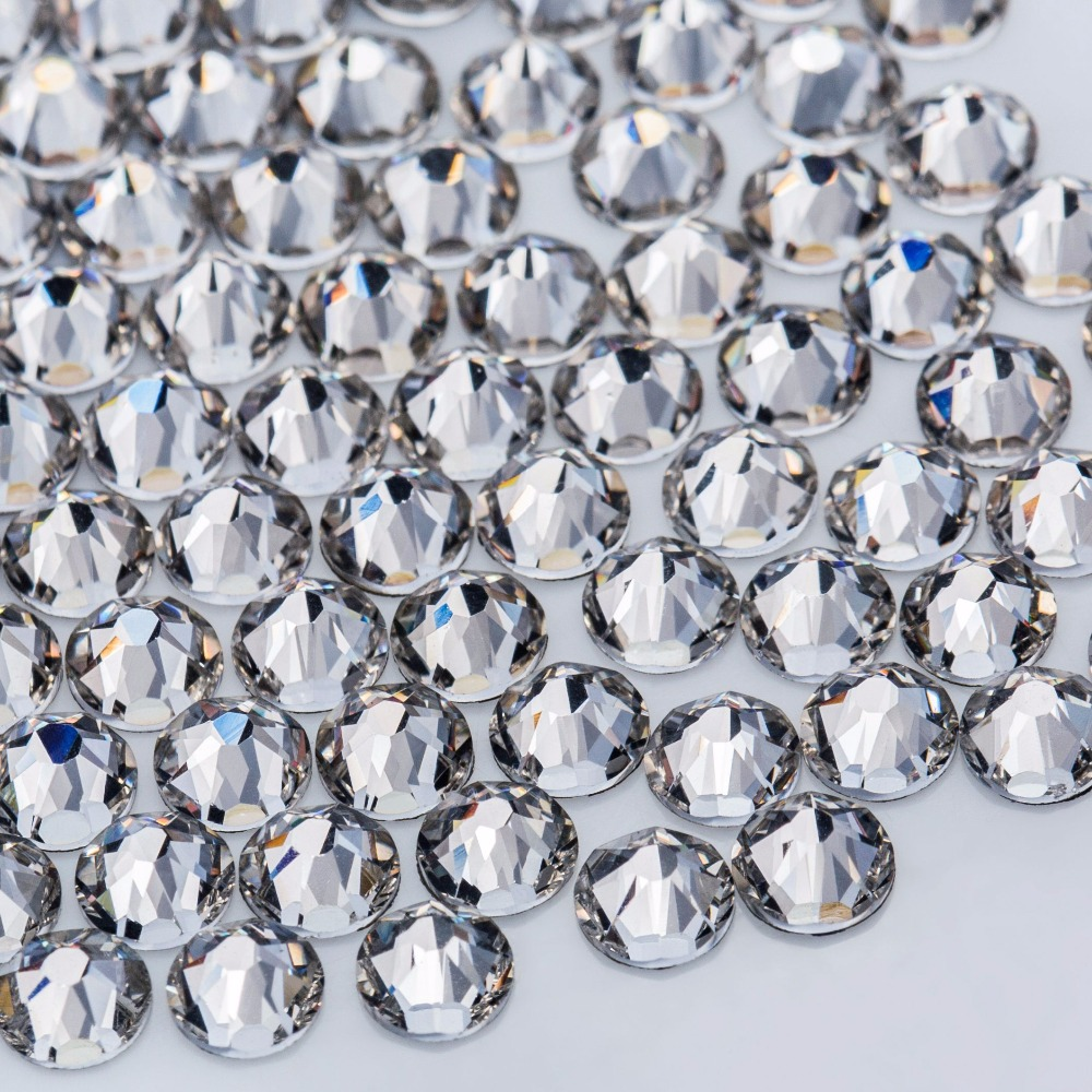 Crystal Castle Rhinestones For Clothes 5A SS20 Clear Crystal Hotfix  Flatback Strass Hot Fix Nail Art Glass Stones Rhinetones Diy-in Rhinestones  from Home ... 5d173a867030