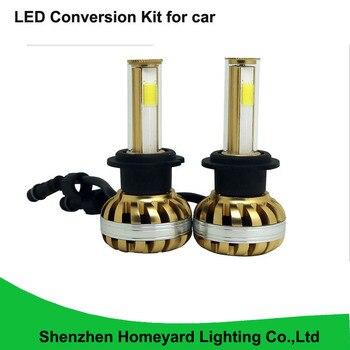2pcs COB 40W H7 LED coversion kit 12V SUV ATV Halo Angel Eyes Rings Road 3200LM  led headlights