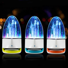 Wi-fi Bluetooth Colourful LED Music Fountain Dancing Water Audio system Moveable Mini Music Subwoofer Speaker CX88