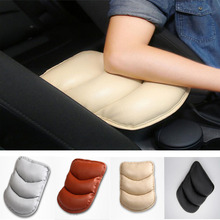 Universal Auto Car Seat Cover Soft Leather Auto Center Armrest Console Box Armrest Cover Cushion Comfortable Pad Car Accessories pu leather car suv center box armrest cushion console soft pad cushion cover mat memory foam rest pillow armrest supports
