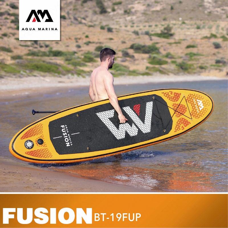AQUA MARINA FUSION Planche De Surf Gonflable De Planche de surf Paddle Debout SUP Paddle SUP Planche de surf SUP