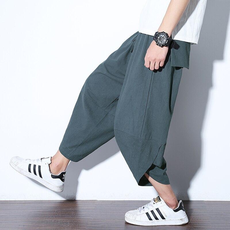 Полосатые спортивные штаны с трафаретным принтом, уличные мужские спортивные штаны с эластичной талией, спортивные штаны для бега - Цвет: color13
